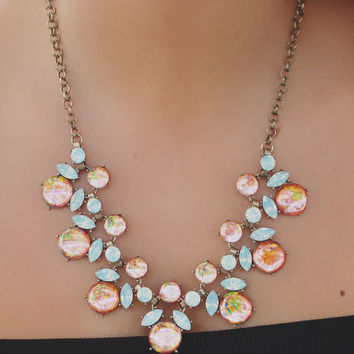 Rose Water Necklace