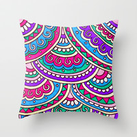 Sonata Throw Pillow by PeriwinklePeacoat