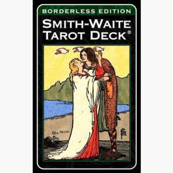 Smith-Waite Borderless Tarot Deck