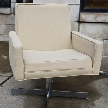 Vintage 1970s Swivel Club Chairs