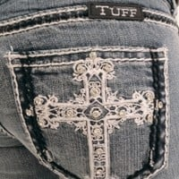 NEW Cowgirl Tuff Victory Black & White JeanPurchase
