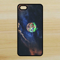 Yin Yang Moon Space Art Phone Case iPhone 4 / 4s / 5 / 5s / 5c /6 / 6s /6+ Apple Samsung Galaxy S3 / S4 / S5 / S6