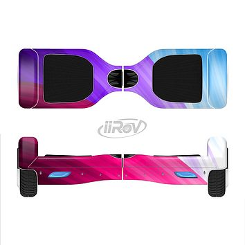 The Radiant Color-Swirls Full-Body Skin Set for the Smart Drifting SuperCharged iiRov HoverBoard