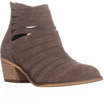 Carlos by Carlos Santana Vanna Strappy Ankle Booties, Doe, 9 US