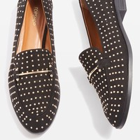 LIBERTY Pinstud Loafers | Topshop