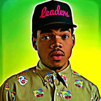 Chance the Rapper Art Print by Ellie B. Noels