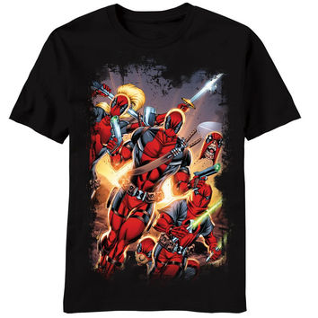 Deadpool - Red Masked T-Shirt