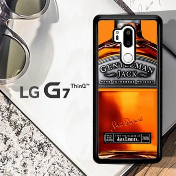 Gentleman Jack Daniels Rare Tennessee Whiskey L2167 LG G7 ThinQ Case