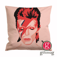 Ziggy Stardust David Bowie Cushion Case / Pillow Case