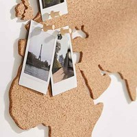 Cork Board World Map - Urban Outfitters