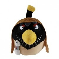 "Angry Birds Star Wars Bird Obi Wan 8"" Plush with Sound"