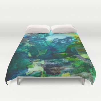 No Relief Duvet Cover by DuckyB (Brandi)