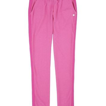 Heather Dragonfruit Girls Glamour Soft Terry Sweat Pant by Juicy Couture,