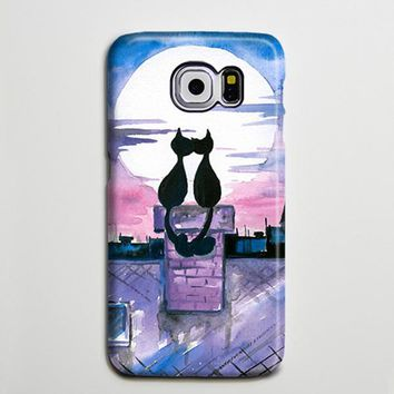 Love Cats Galaxy s6 6s Case s7 iPhone 6 plus Case iPhone 5 Case Galaxy Case 3D s6-193