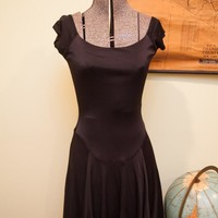Vintage Betsey Johnson Black Dress