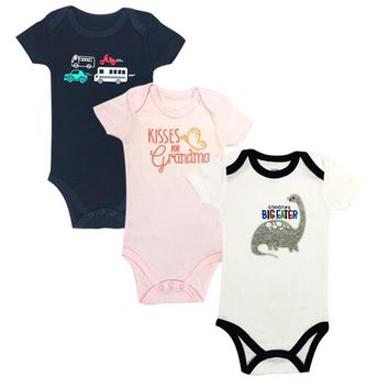 Newborn Girl Boy Baby Clothes Cute Cartoon Cotton Short Sleeve Baby Rompers summer jumpsuit romper cool Gift Infantil Costumes