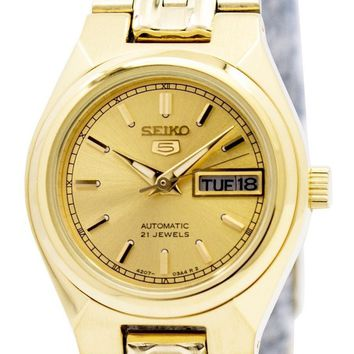 Seiko 5 Automatic 21 Jewels SYMA04 SYMA04K1 SYMA04K Women's Watch