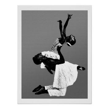 African American Dance Poster