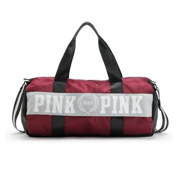 VS Pink Duffle Bag Limited Stock Factory Price