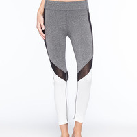 Young & Reckless Come Thru Tactic Womens Leggings Black/White  In Sizes