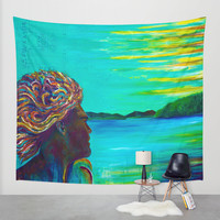 El Capitan Wall Tapestry by Sophia Buddenhagen