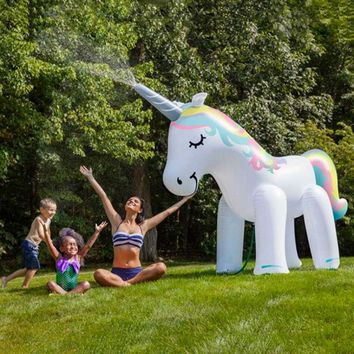 Gianormous Unicorn Yard Sprinkler