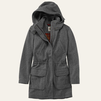 Timberland | Women's Kibby Mountain Long Wool Parka