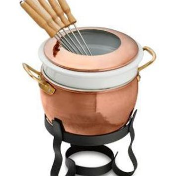 Ruffoni Copper Fondue Pot | Williams-Sonoma