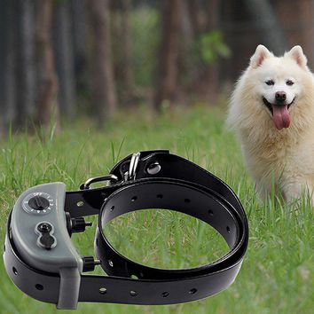 New Gery Electronic Waterproof Static Shock Pet Dogs Trainer Dog Training Collar Anti Bark Collars PET854 Anti Barking Device