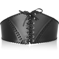 Alaïa Leather lace-up corset belt – 50% at THE OUTNET.COM