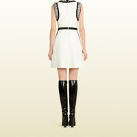 Gucci - bead embroidered a-line dress 362945ZDZ219900