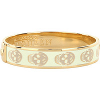 Enamel skull small cuff - ALEXANDER MCQUEEN - Jewellery - Shop Accessories - Womenswear | selfridges.com