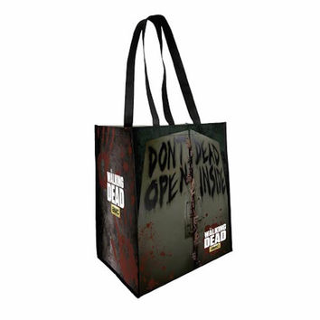 The Walking Dead Don't Open Dead Inside Shopping Sturdy Tote Bag New Licensed