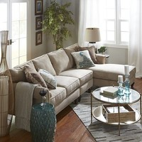 Build Your Own Alton Sectional - Ecru