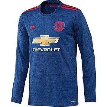 Adidas Men's Soccer Manchester United Away Jersey Long Sleeve