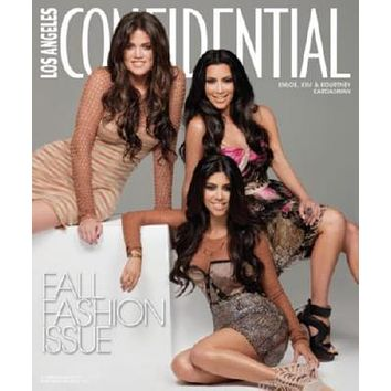 Kardashians Magazine Cover poster Metal Sign Wall Art 8in x 12in