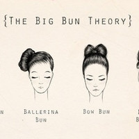 small hair bun tumblr - Google Search
