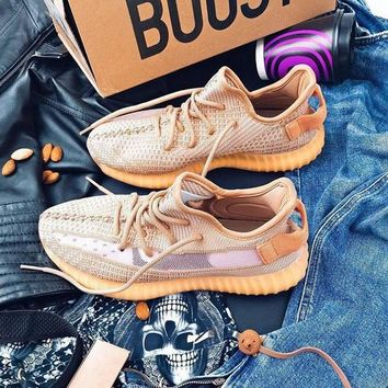 """Adidas Yeezy Boost 350 V2 """"Clay"""" -""""True Form"""" - """"Hyperspace"""" Sneaker Shoes"""