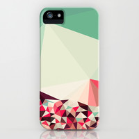 Poppy Field Tris iPhone & iPod Case by Beth Thompson