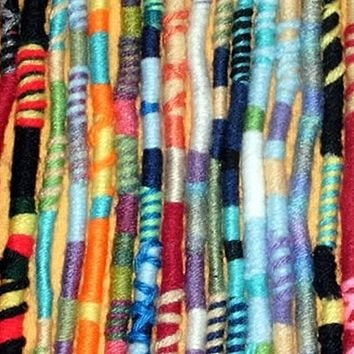 Yarn Falls, Hippie Hair Wraps, Braid & Dreadlock Extensions, Accessories