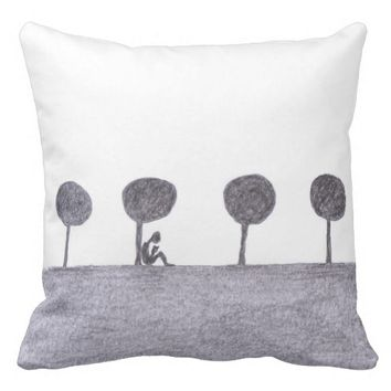 Peacefulness Throw Pillow