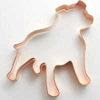 Standing Staffordshire Terrier / Pit Bull Cookie Cutter