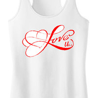 Love You, love you tank,fitness tank,love tank,love tshirt,romantic tank top,Valentines gift,I love you shirt,womens gift,fitness tank