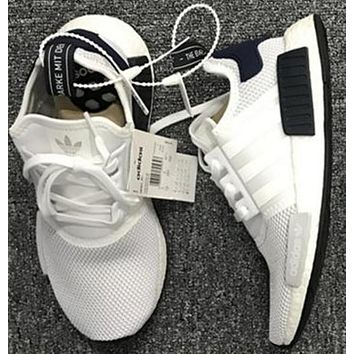 2018 Original Adidas NMD_R1 men and women Gym shoes