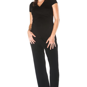 Maternity & Nursing Lounge Set {Black}