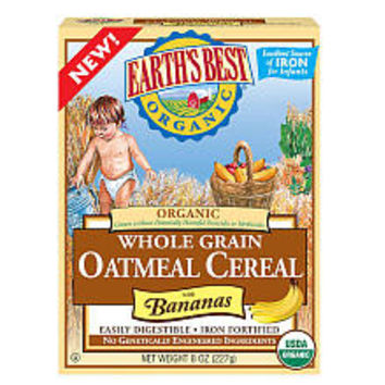 Earth's Best Oatmeal with Banana Cereal