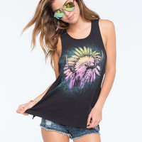 Hurley Sunset Trail Womens Muscle Tank Black  In Sizes