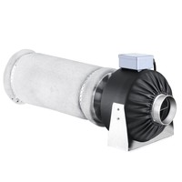 Earth Worth 4 Inch Fan & Filter Combo For Hydroponics and Grow Tents