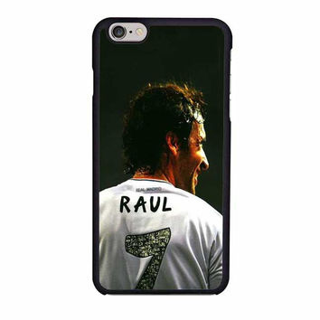raul real madrid fc iphone 6 6s 4 4s 5 5s 6 plus cases