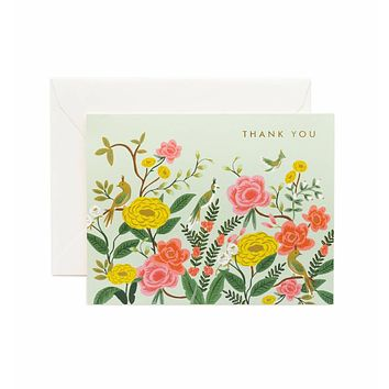 Shanghai Garden Thank You Card